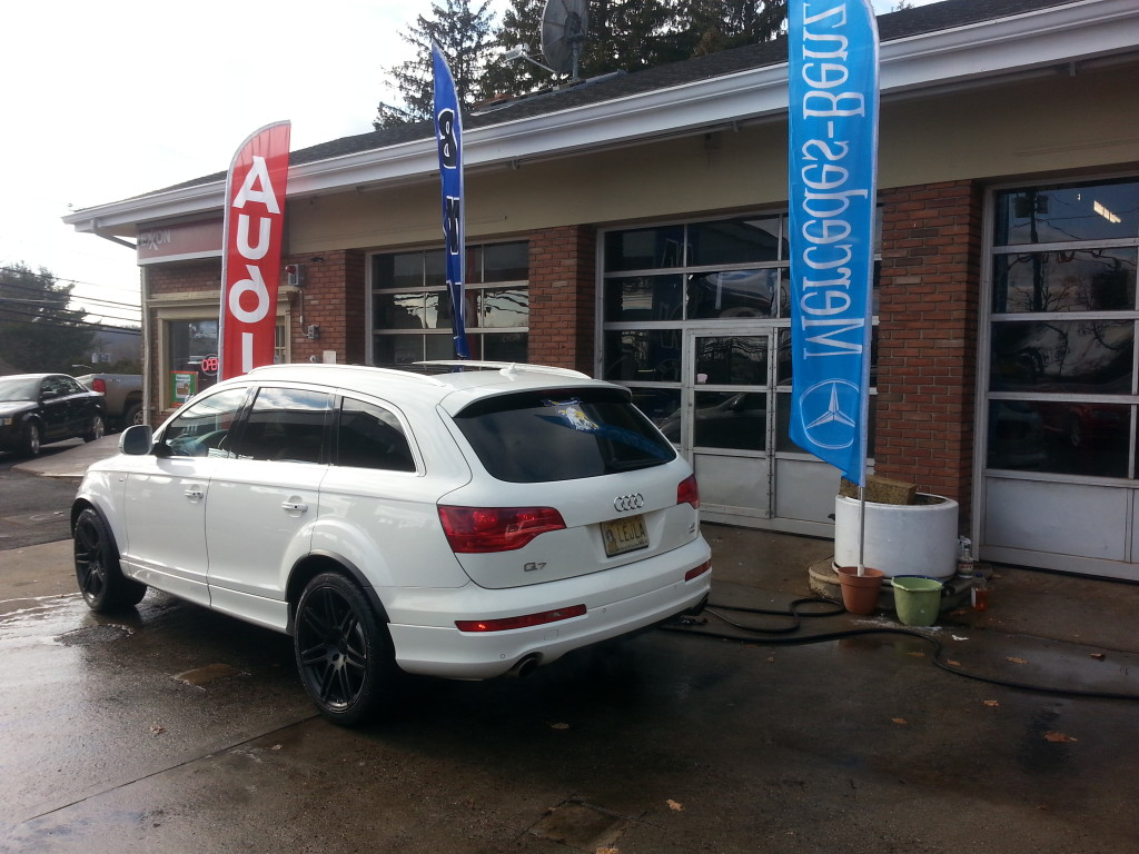 2008 Audi Q7 For Sale Back View