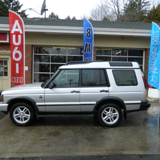 Silver 2004 Land Rover Discovery SE For Sale