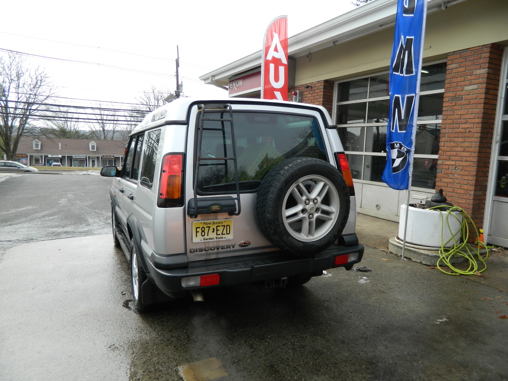 Silver 2004 Land Rover Discovery For Sale - Back