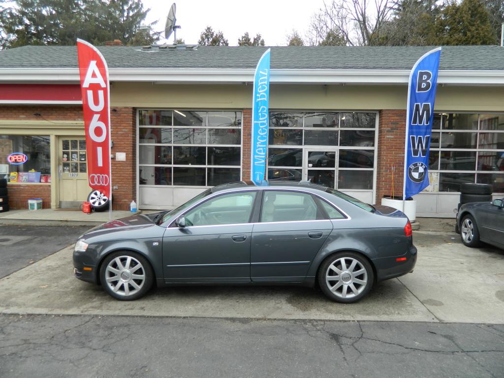 Gray 2006 Audi A4 2.0T